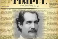 """28 iunie 1883: Ziaristul Mihai Eminescu a căzut luptând, la 33 de ani, sacrificat pentru """"integrarea europeană"""". Interviu exclusiv cu reputatul eminescolog Nae Georgescu"""