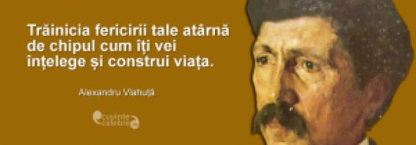 Scrisoarea lui Alexandru Vlahuţă către fiica sa, Margareta