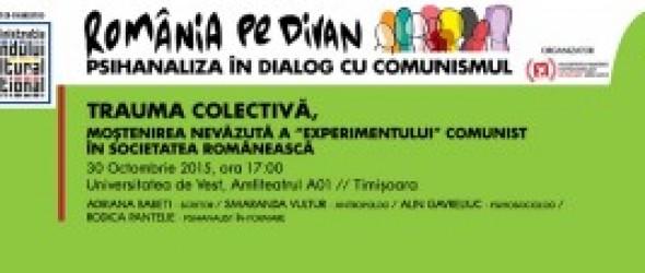 România pe divan: Psihanaliştii invită cercetătorii, artiştii şi publicul larg la dialog şi asocieri libere