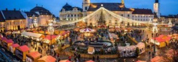 Sibiul a fost inclus pe lista oraşelor cu cele mai frumoase pieţe de Crăciun din lume